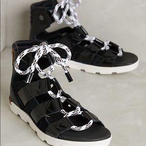 Sorel torpeda sandals lace up gladiator style
